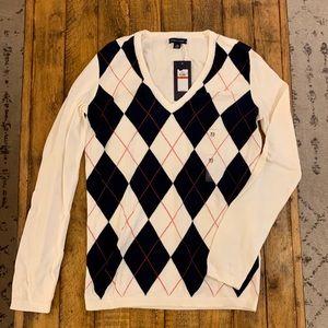 Women's Tommy Hilfiger Tartan Sweater size XS